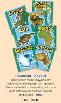 C60 Continent Book Set