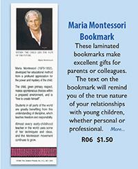 R06 Maria Montessori Bookmark