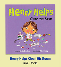 Q62 Henry Helps Clean His Room
