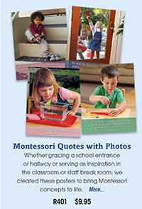 R401 Montessori Quotes with Photos