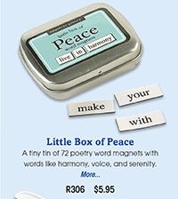 R306 Little Box of Peace