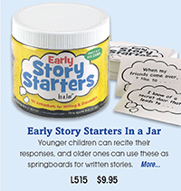 L515 Early Story Starters In a Jar