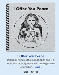 R31 I Offer You Peace