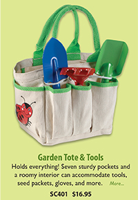 SC401 Garden Tote & Tools