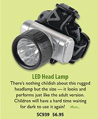 SC939 LED Head Lamp