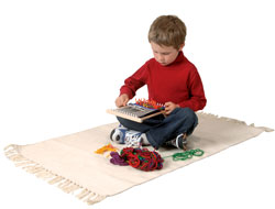 Boy with Loom