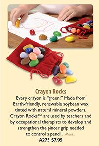 A275 Crayon Rocks