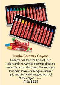 A148 Jumbo Beesewax Crayons