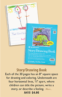 A415 Story/Drawing Book