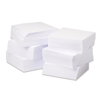 Bulk White Metal Inset Paper