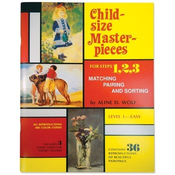 Child-Size Masterpieces ~ Level 1 - Easy (printed on lighter stock)