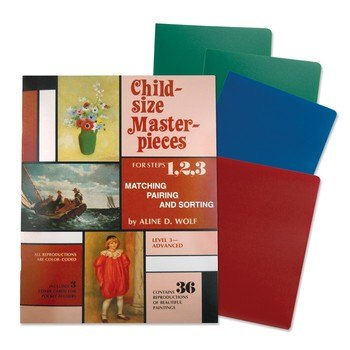 Child-Size Masterpieces ~ Level 3 - Advanced with Folders