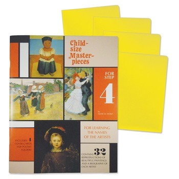 Child-Size Masterpieces ~ Learning the Names of the Artists with Folders