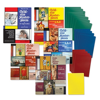Child-Size Masterpieces Starter Set with Folders