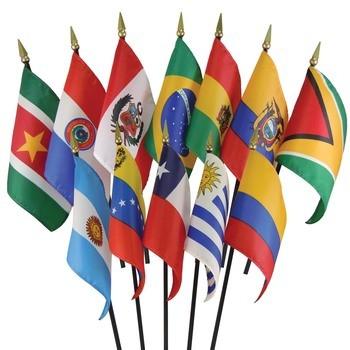 South America Flag Set