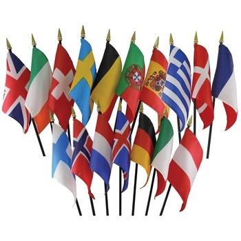 Western Europe Flag Set