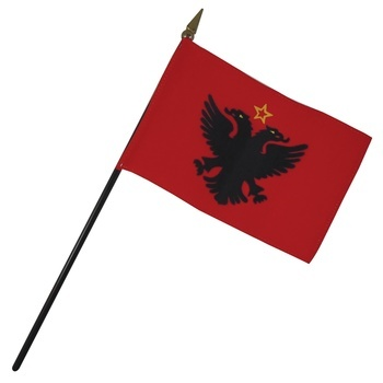 Albania Nation Flag