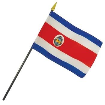 Costa Rica Nation Flag