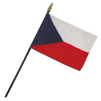 Czech Republic Nation Flag