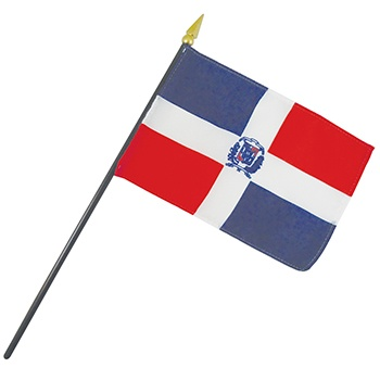 Dominican Republic Nation Flag