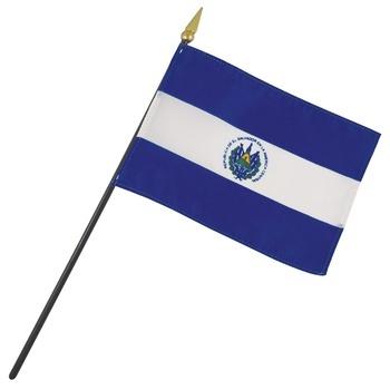 El Salvador Nation Flag