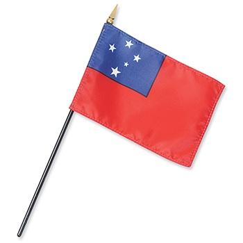 Samoa/West Samoa Flag