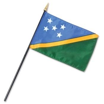 Solomon Islands Nation Flag