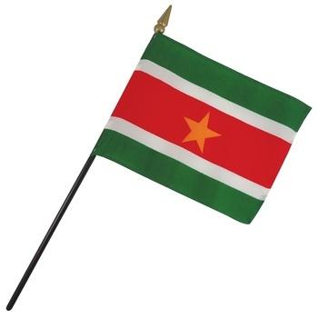 Suriname Nation Flag
