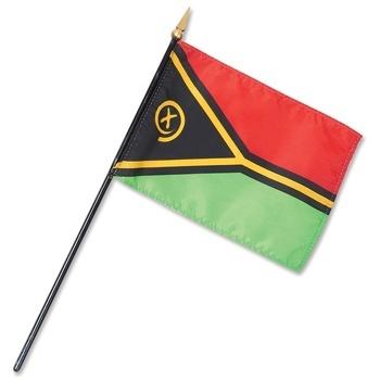 Vanuatu Nation Flag
