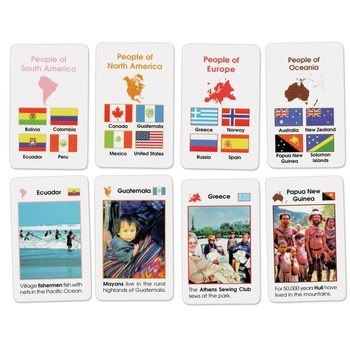 World People Cards