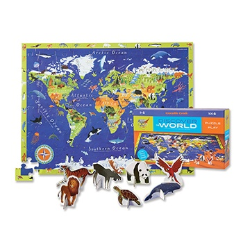 Discover the World ~ Puzzle + Play