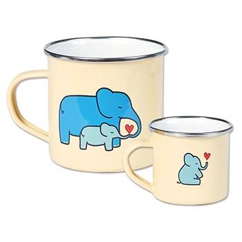 Tea for Two – Elephants Mug Set