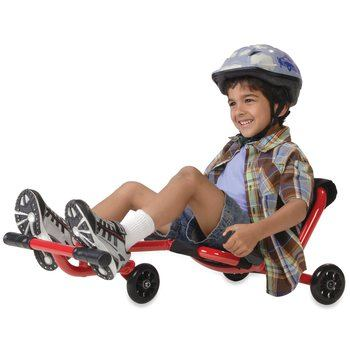 Classic EzyRoller Ride-On Scooter - Red