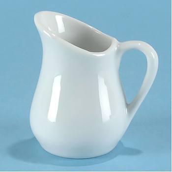3/4 oz. Porcelain Pitcher