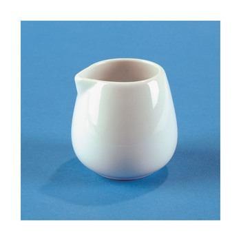 Porcelain Handle-Less Creamer