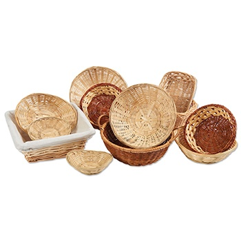 Natural Fiber Basket Assortment