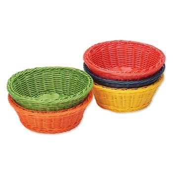 Colored Plastic Basket Assortment