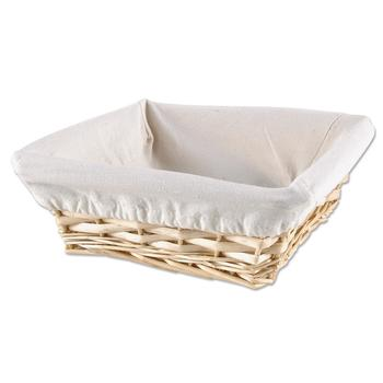 Square Basket with Liner
