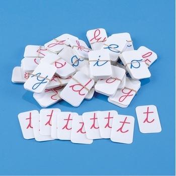 Cursive Movable Alphabet Cards