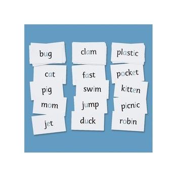 Miss Rhonda's Phonetic Word Cards