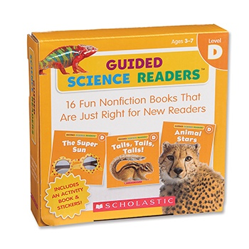 Guided Science Readers – Level D