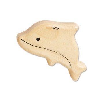 Wooden Dolphin Shaker