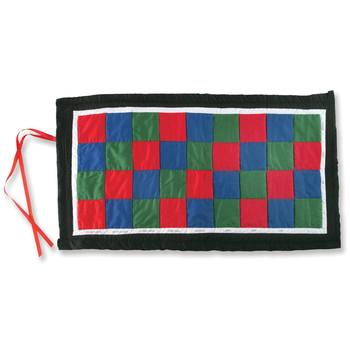 Quilted Checkerboard Mat