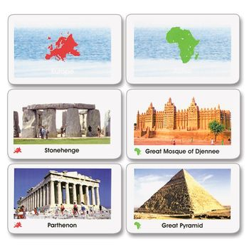 Primary Sacred Places of the World Cards