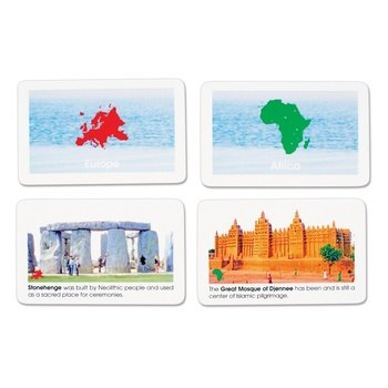 Elementary Sacred Places of the World Cards