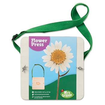 Leaf & Flower Press with Carrying Strap