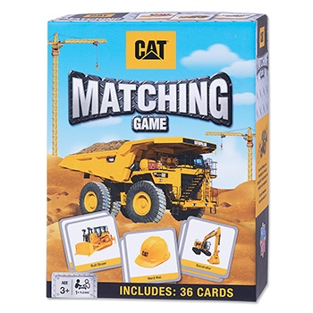 CAT® Construction Matching Game
