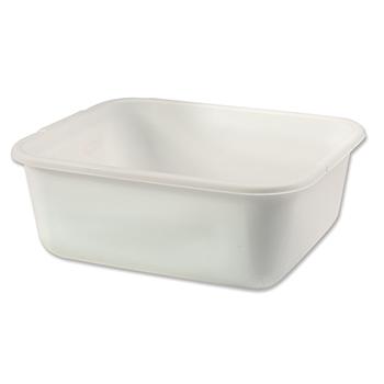 White Plastic Dishpan