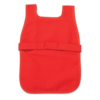 Toddler Cloth Apron with Easy-Fasten Velcro Closure