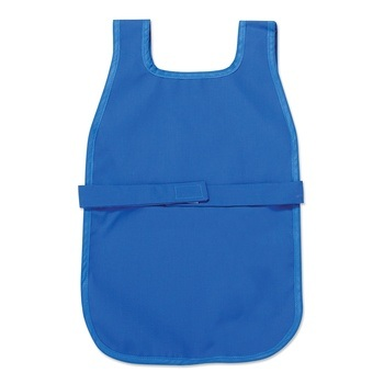 Elementary Cloth Apron with Easy-Fasten Velcro Closure